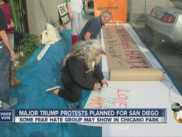 Major Trump protests planned for San Diego