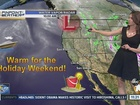 Forecast: Grilling weather for holiday weekend!