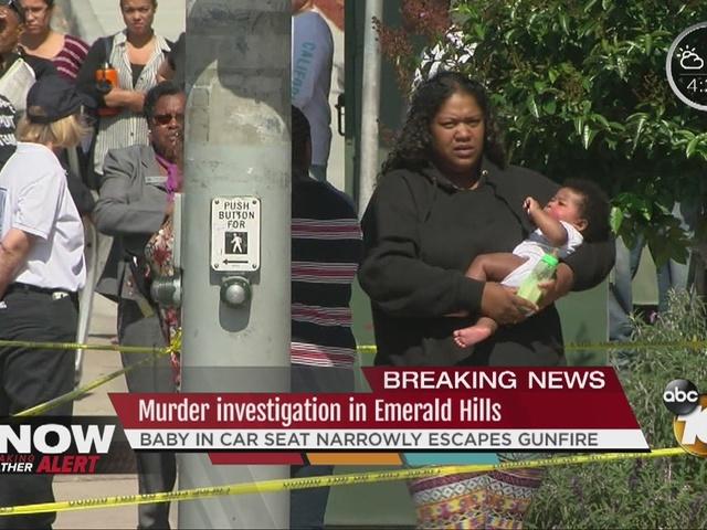 Murder investigation in Emerald Hills