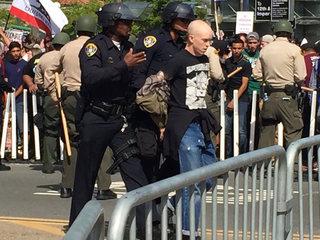 Barrio Logan: 'Martial law' during Trump protest