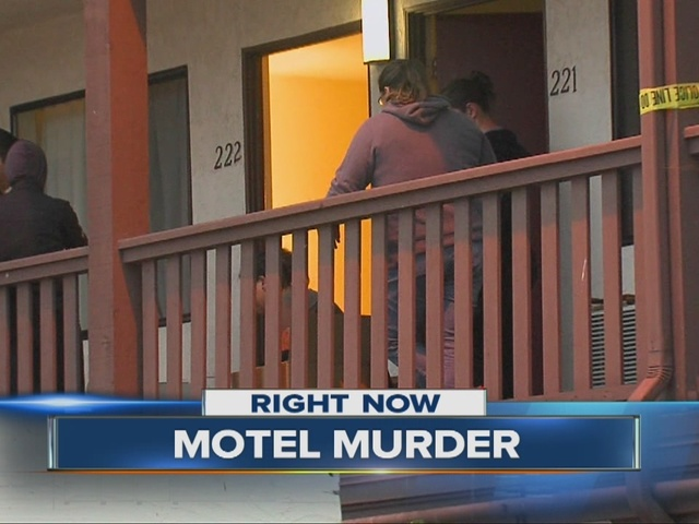 Man gunned down in Palm City motel room