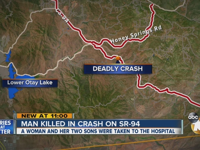 Man killed in crash on SR-94