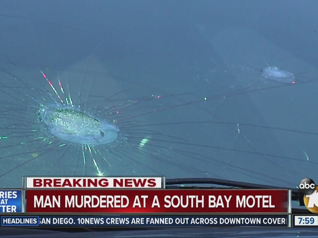 Man murdered at a South Bay Motel