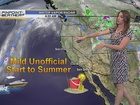 Forecast: Warming up heading into June