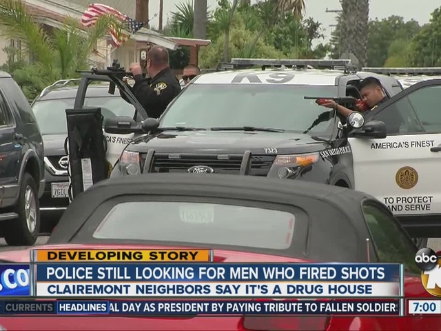 Residents speak out after shots fired in Clairemont neighborhood