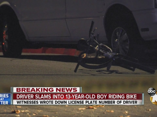 Driver flees after hitting teen bicyclist in San Marcos