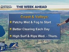 Forecast: Getting toasty by Week's End!