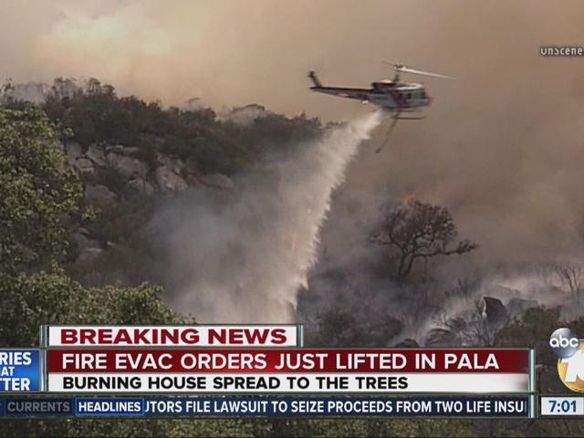 Pala Fire: Woman explains why she refused to evacuate