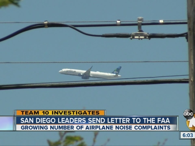Team 10 Airplane Noise Complaints Prompt Letter To Faa