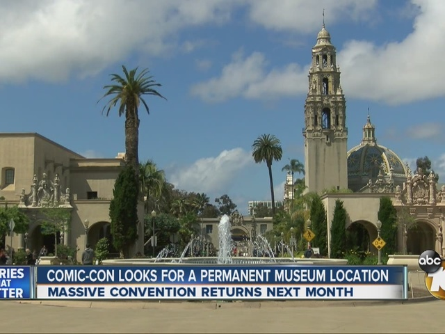 Comic-Con looks for permanent museum location