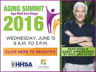 Aging Summit 2016: Age Well San Diego