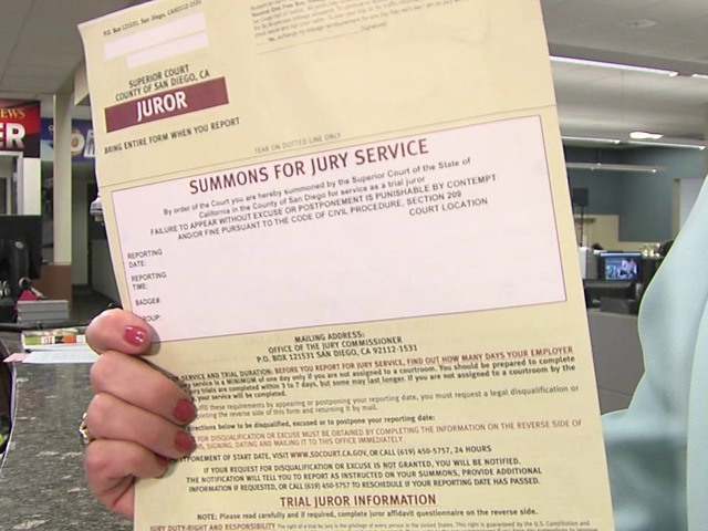 Empty threat? Thousands of San Diegans blow-off jury duty