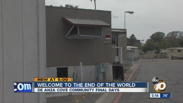 Final Days Community Near Anza Cove News