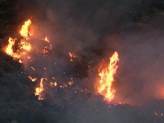 Border Fire destroys 5 homes, burns 6,723 acres