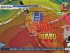 Megan's forecast: Getting hot & humid next week