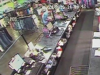 Video catches man stealing donation box for pets