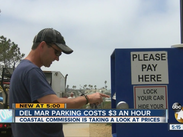 California Coastal Commission may tell Del Mar to lower parking meter rates