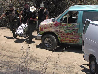 Two bodies found in Border Fire burn area