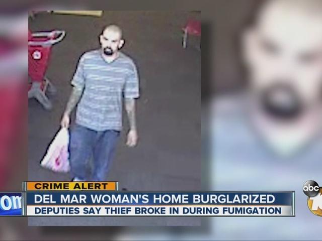 Del Mar woman's home burglarized