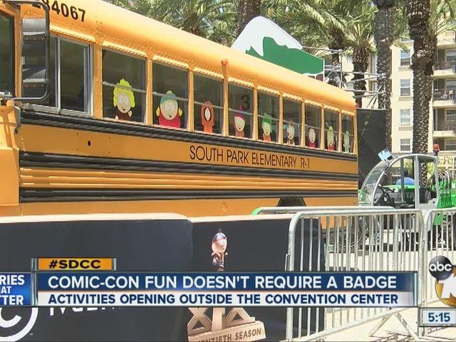 Comic-Con fun doesn't require a badge