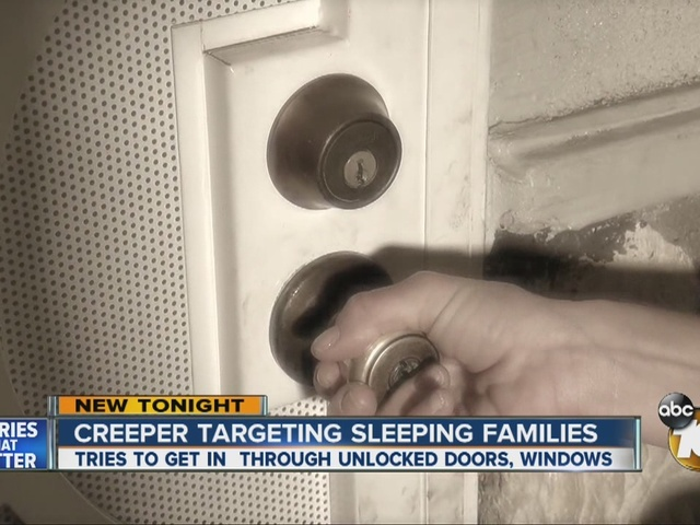 Creeper targeting sleeping families