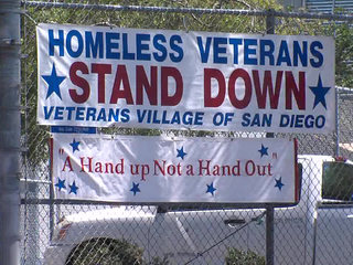 Local military vets to get break from streets