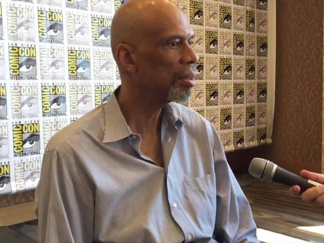 Comic-Con San Diego: An Interview with Kareem Abdul-Jabbar