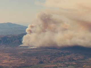 Fire burning in Camp Pendleton is 35% contained