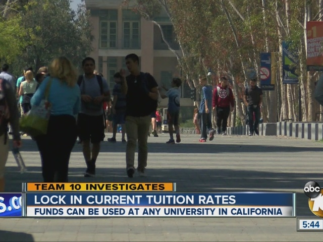 Lock in current tuition rates