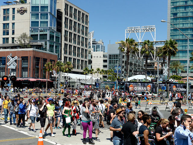 Comic-Con for the badgeless masses