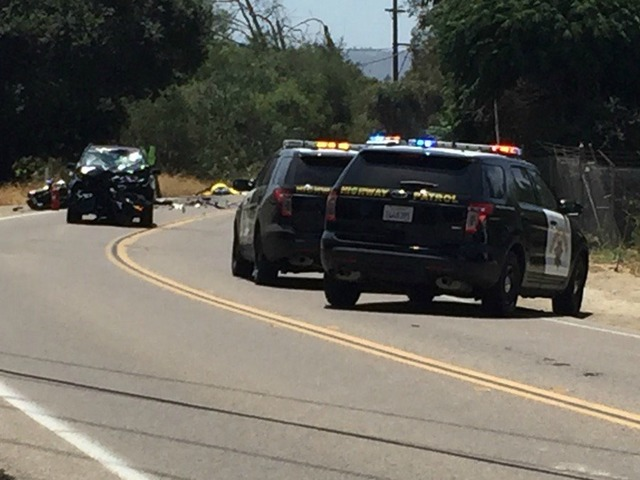 Fatal motorcycle crash closes road in San Marcos