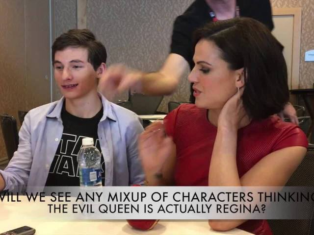 Once Upon a Time at Comic-Con: Lana Parrilla & Jared Gilmore