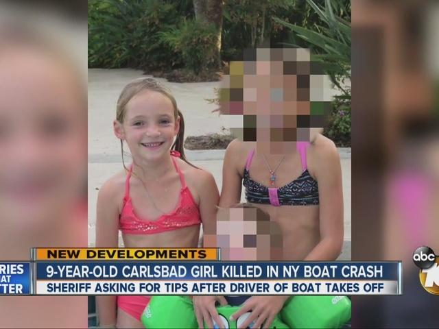 9-year-old Carlsbad girl killed in New York boat crash