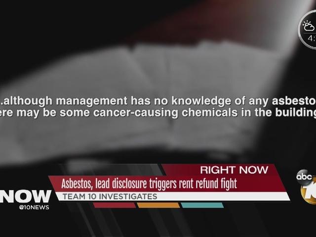 Asbestos, lead disclosure triggers rent refund fight