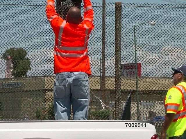 Crews remove Donald Trump pinata hanging from North Park overpass
