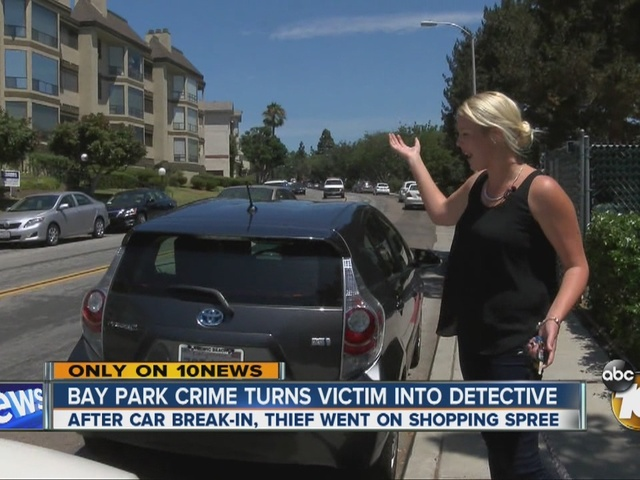 Bay Park crime turns victim into detective