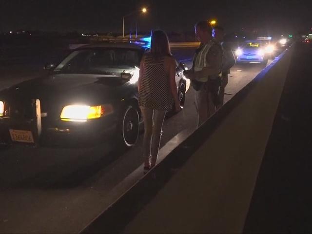 Drunk driver smashes into SR-163 freeway divider