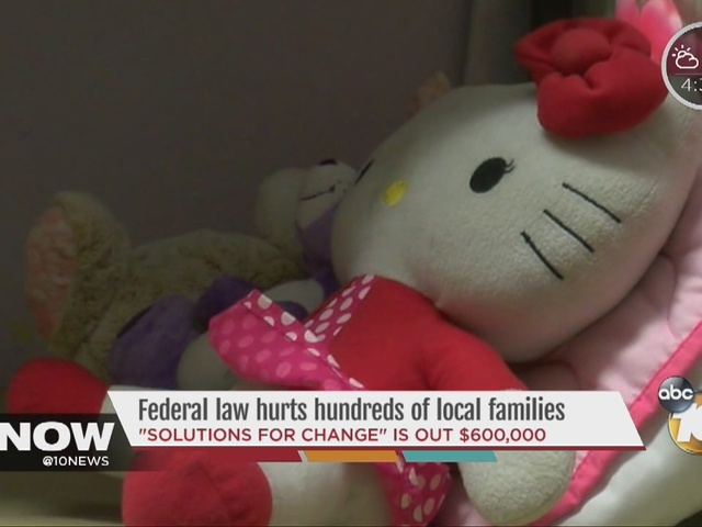 Federal law hurts hundreds of local families