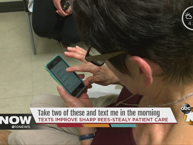 Texts improve Sharp Rees-Stealy patient care