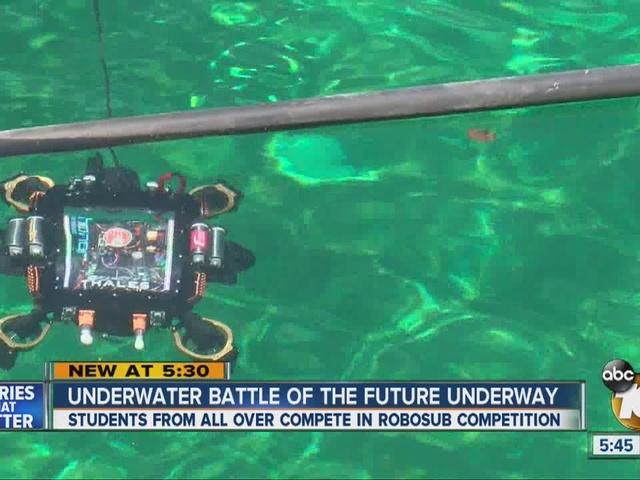 Underwater battle of the future underway