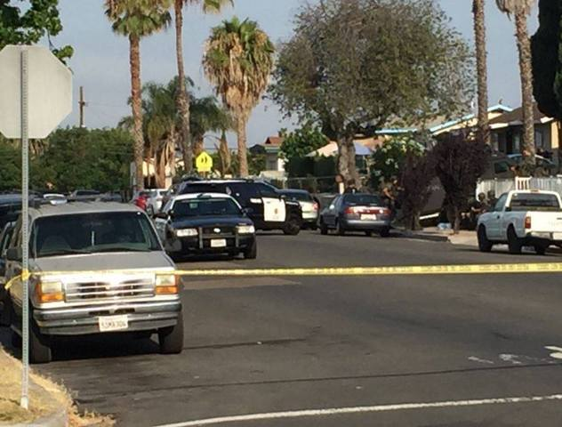 Standoff continues with SDPD shooting suspect