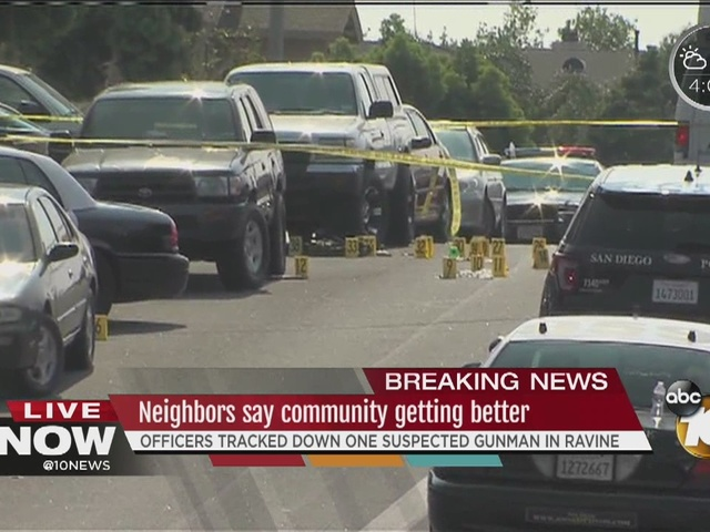 Neighbors say community where police shooting happened is 'getting better'