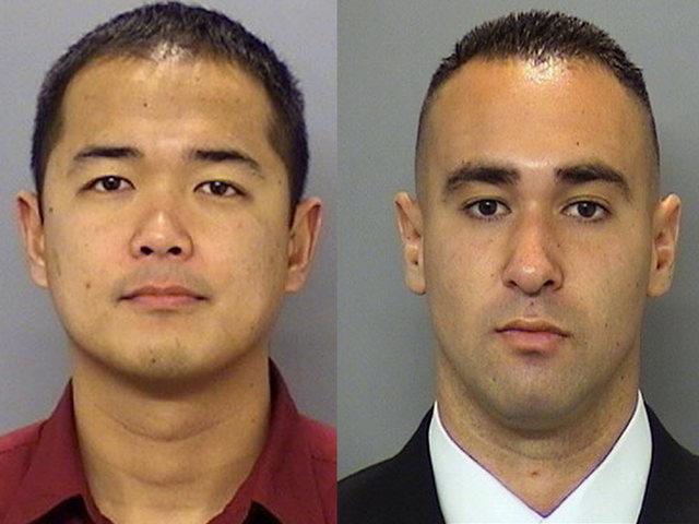 1 oficial muerto y otro oficial herido