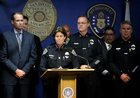 Police view body-camera footage in cop killing