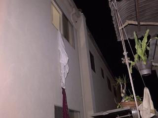 2 jovencitas al hospital, cayeron de tercer piso