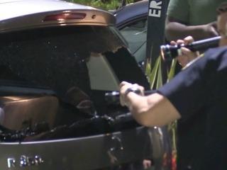 Pasajero de Uber dispara al vehículo tras riña