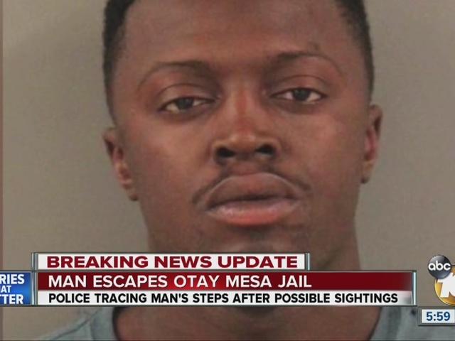 Man escapes Otay Mesa Jail