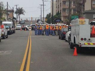 Evacuations lifted in Ocean Beach gas leak