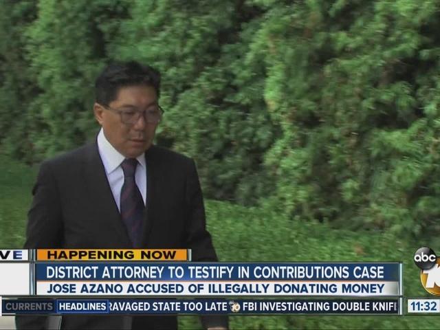 DA Dumanis to testify in political contributions case