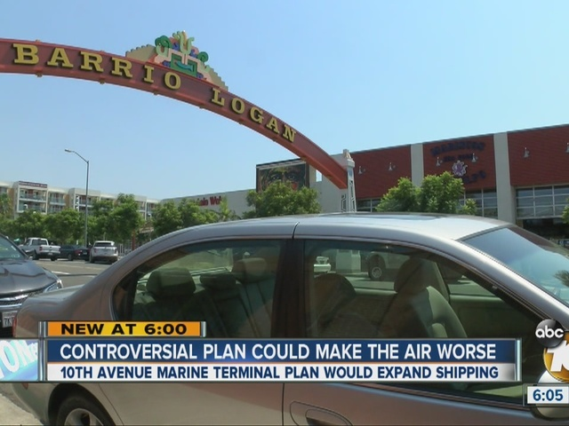 Controversial plan could make air worse in Barrio Logan